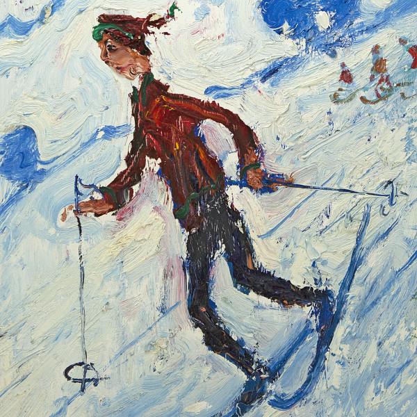 Simeon Stafford, On the Peaks II