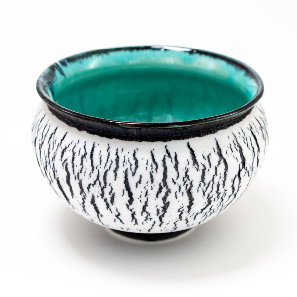 Hugh West, Black Crackle Bowl