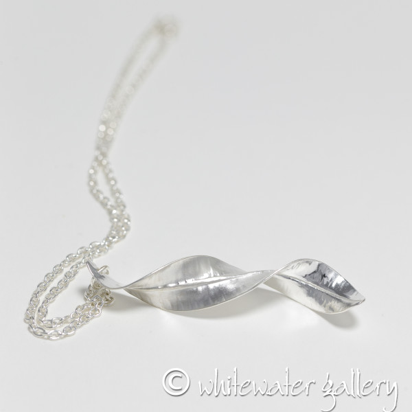 Marsha Drew, Twisted Long Leaf Pendant