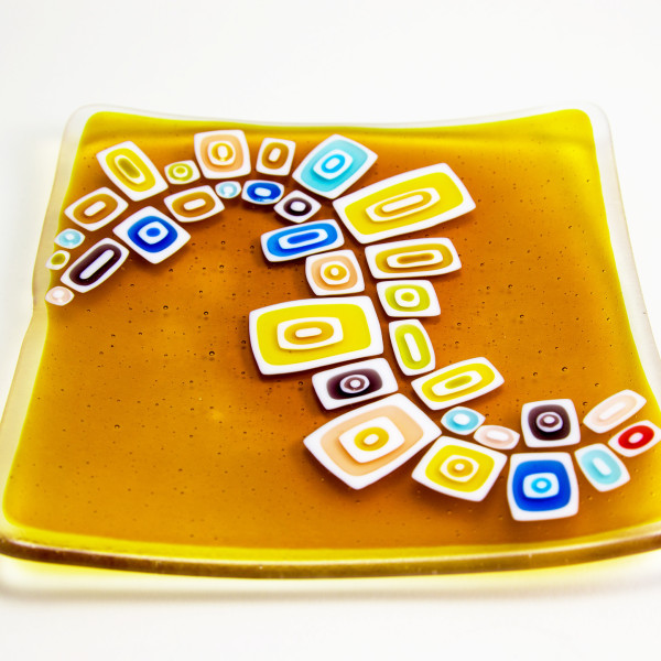 David Pascoe, Yellow Square Allsorts Dish