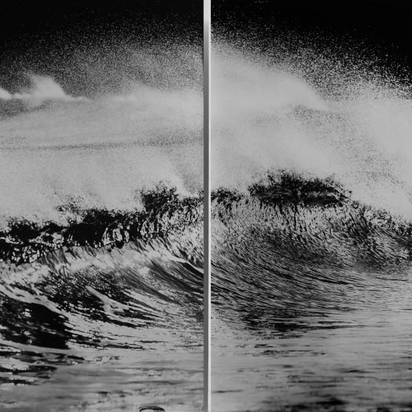 Nick Reader, Spray - Oceangraph Diptych