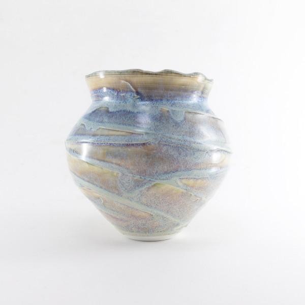 Hugh West, Swirl Open Vase, 2021