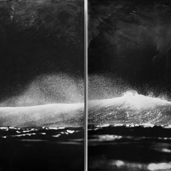 Nick Reader, Shadows - Oceangraph Diptych