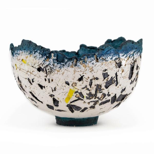 Paula Downing - Blue 'Gem' Bowl