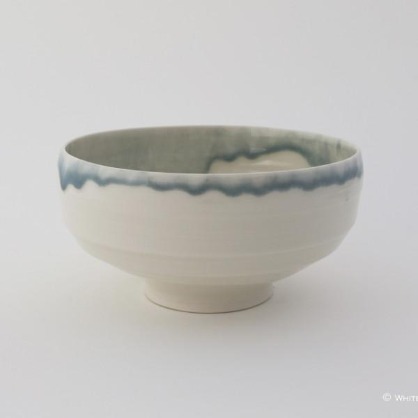 Rebecca Harvey - Bowl with Blue Rim
