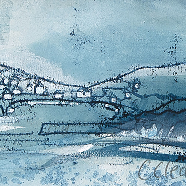 Caroline Cleave, Port Isaac Blue I