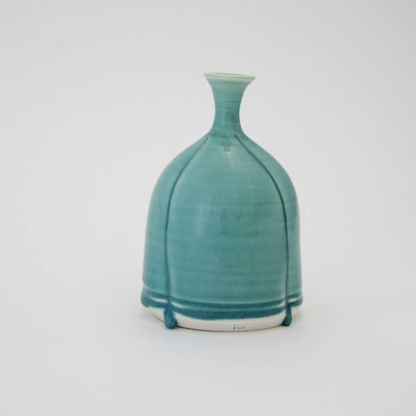 Hugh West, Three Drop Turquoise Bottle