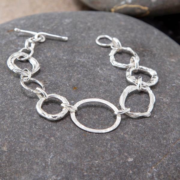 Marsha Drew, Irregular Link Bracelet