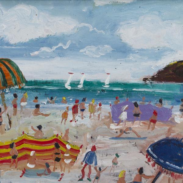 Simeon Stafford - Beach Scene