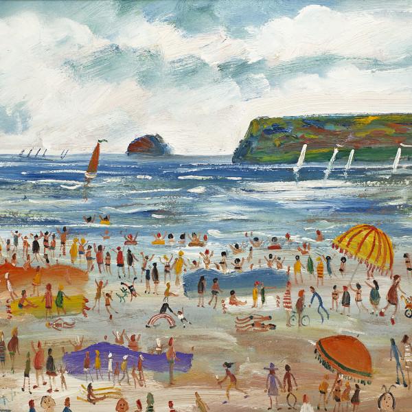 Simeon Stafford, The Sailing Race, Polzeath