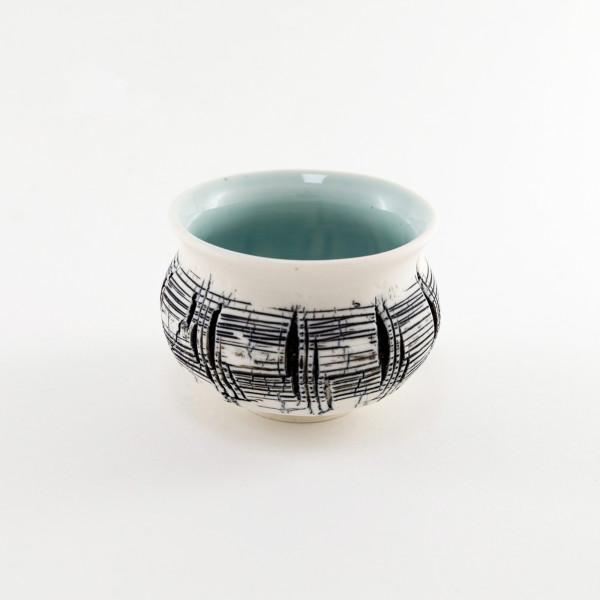 Hugh West, Small Crackled Bowl, 2021