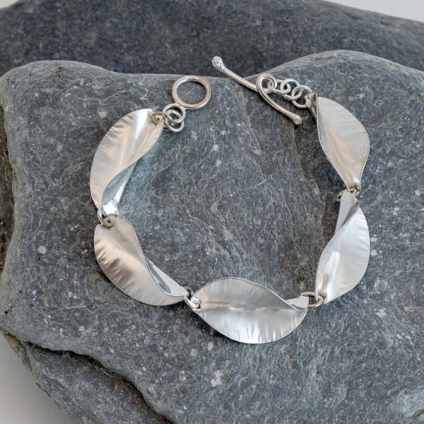 Marsha Drew, Riptide Five Leaf Bracelet