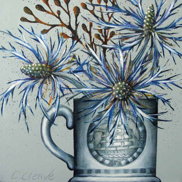 Caroline Cleave, Sea Holly Small