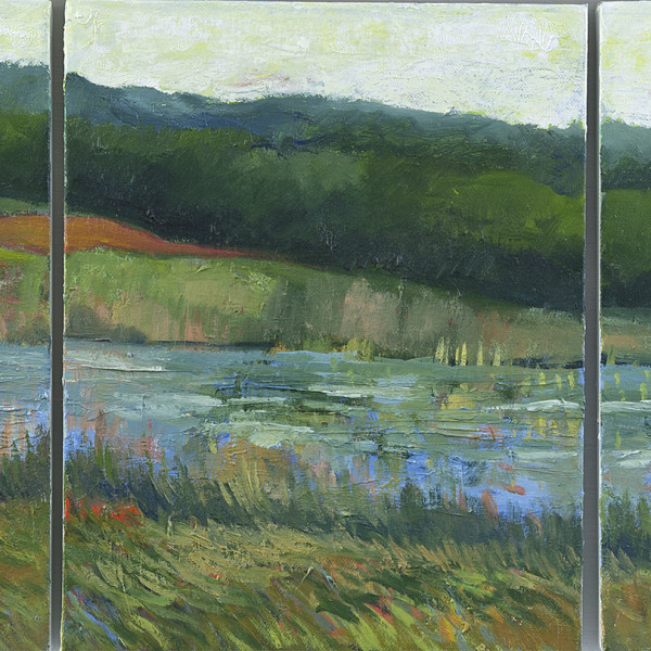 Peter Ursem, River Triptych