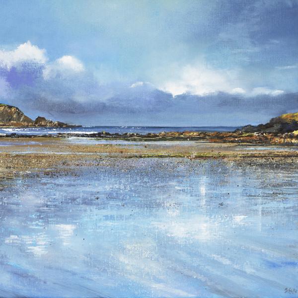 Suki Wapshott, Reflective Blue, Daymer Bay