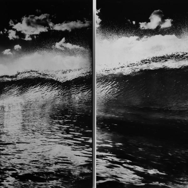 Nick Reader, Wavelength- Oceangraph Diptych