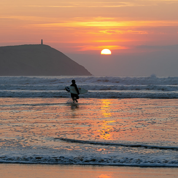 Nick Wapshott, Sole Surfer, Polzeath
