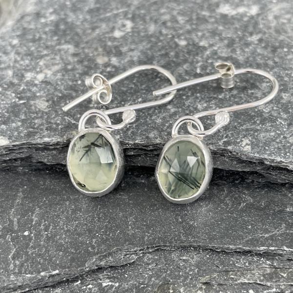 Marsha Drew - Morwen Drop Earrings Prehnite