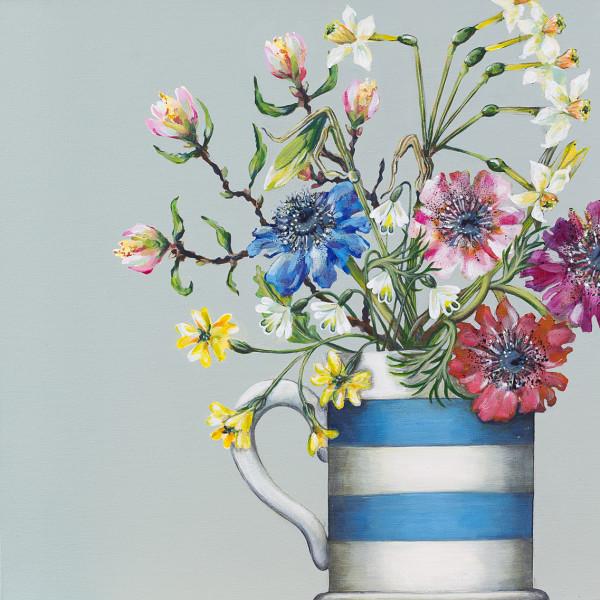 Caroline Cleave, Spring Flowers I