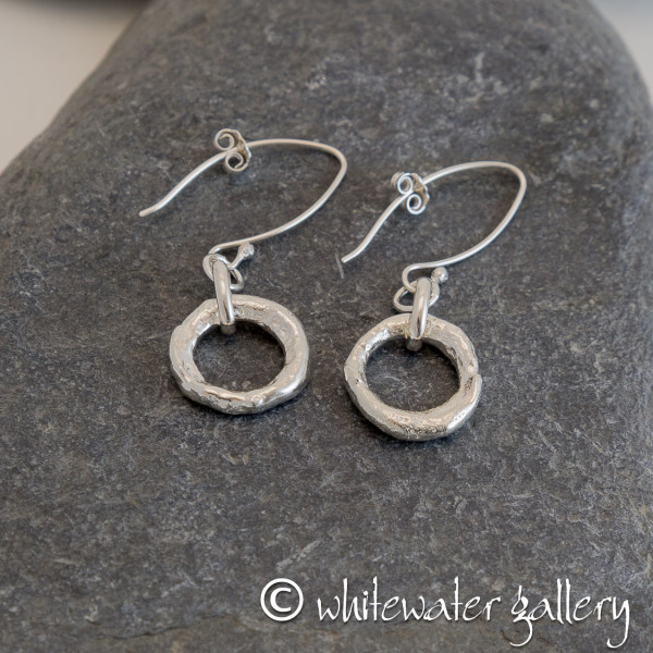 Marsha Drew, Rockpool Halo Drop Earrings