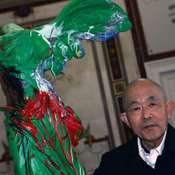 Shozo Shimamoto / Samurai, acrobat of the sight