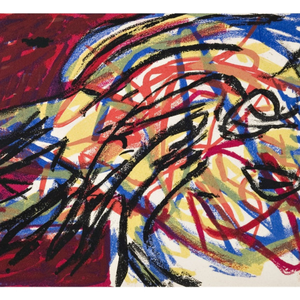 Karel Appel Champagne Drinks