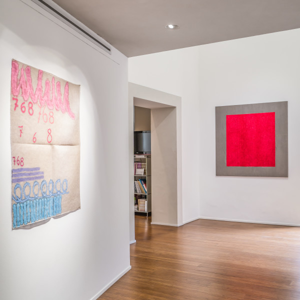Absolute Painting. Giorgio Griffa, Tomas Rajlich and Jerry Zeniuk Group show with Griffa, Rajlich and Zeniuk in ABC-ARTE