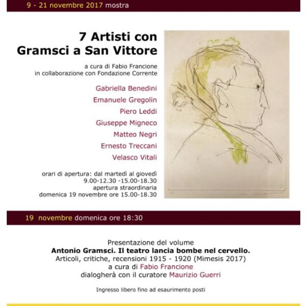 7 Artisti con Gramsci a San Vittore