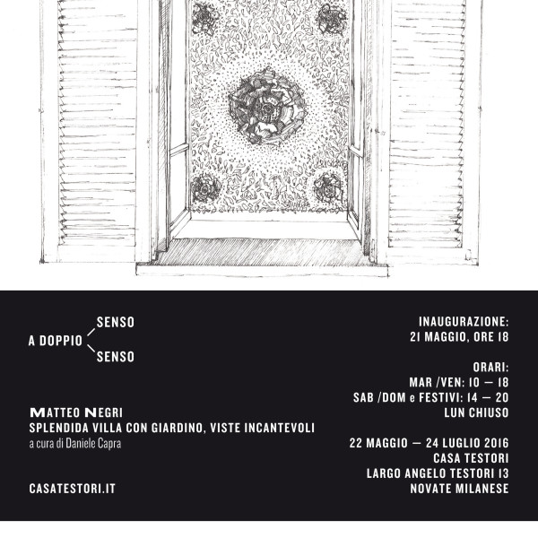 Invitation to Casa Testori