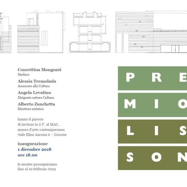Premio Lissone 2018 - invito