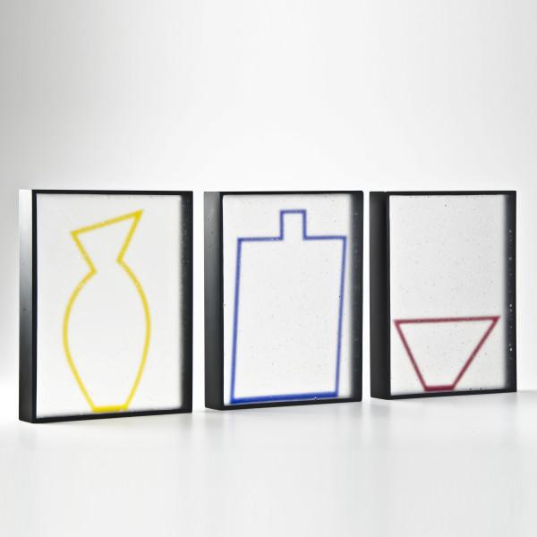 Jane Bruce - 'Framed' (internal vessel blocks), 2013
