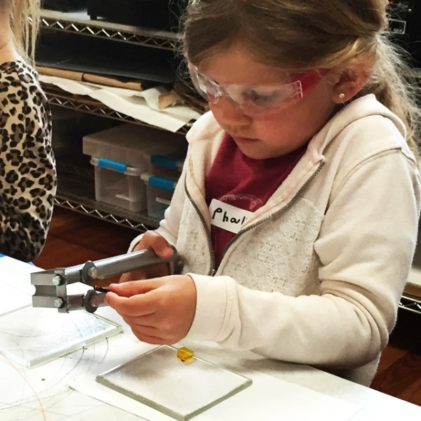 Glass Lab: Family Class, Ages 6-8