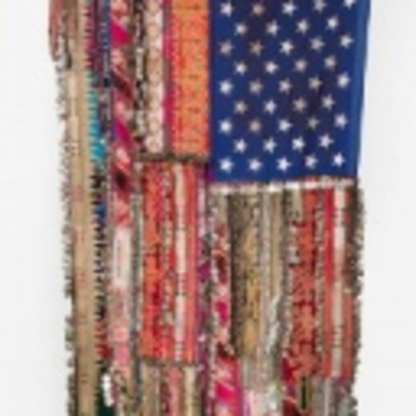 Artists Reimagine The American Flag At The Dallas Art Fair
