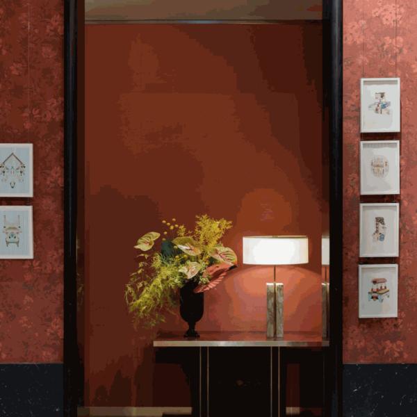 Geometric abstract art on show at The Arts Club Dubai