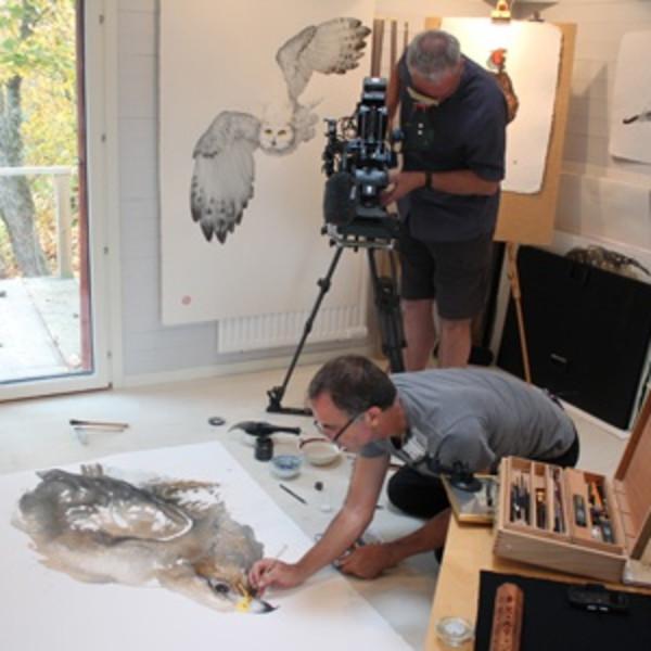 Karl Martens Talk - Cricket Fine Art Hungerford