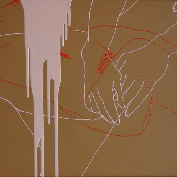 Melissa Dadourian - Sitting Girl (Jean + Vicki), 2004