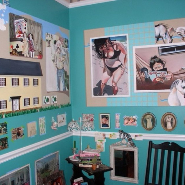 Leah Tinari - The New Paintjob in My Old Room, 2004
