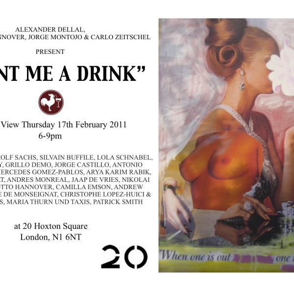 Paint Me a Drink | The Muse of Alcohol @ 20 Hoxton Square, London