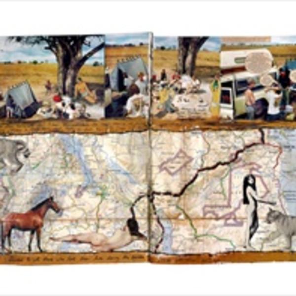 A Special Exhibit of Dan Eldon prints are part of Objects of Art LA
