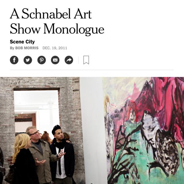 A Schnabel Art Show Monologue