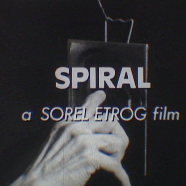 Sorel Etrog Finissage and Screening