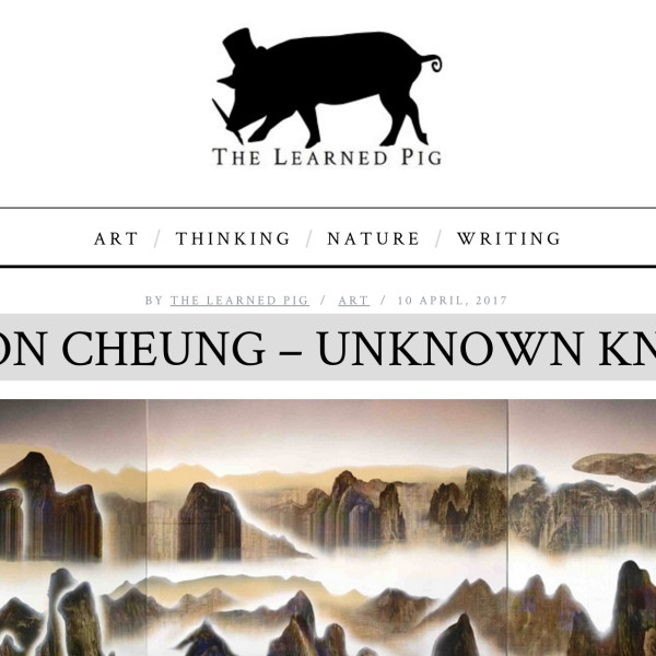 Gordon Cheung interview in The Learned Pig