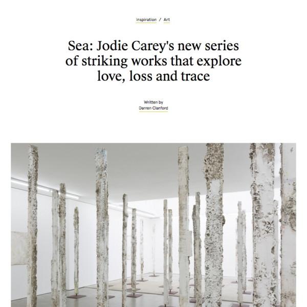 Jodie Carey in Creative Boom