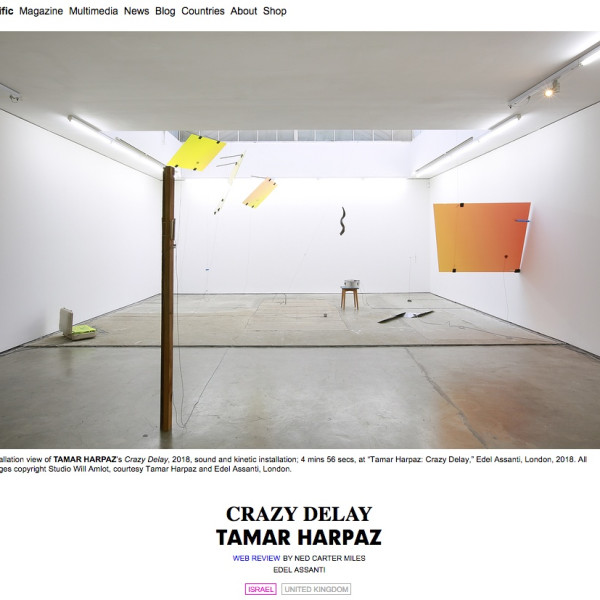 Tamar Harpaz in ArtAsiaPacific