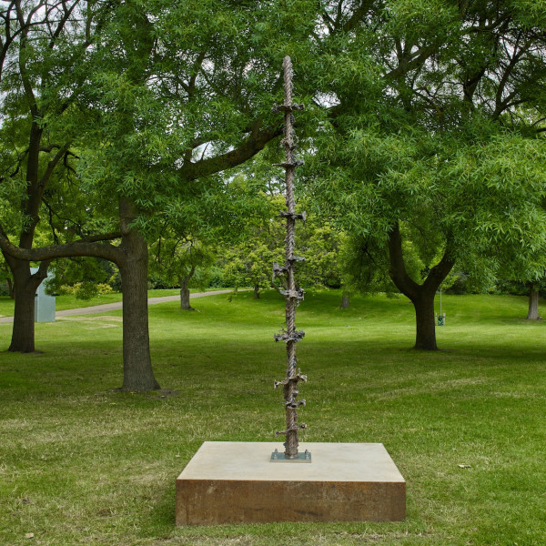 Jodie Carey at Frieze Sculpture, Regent's Park