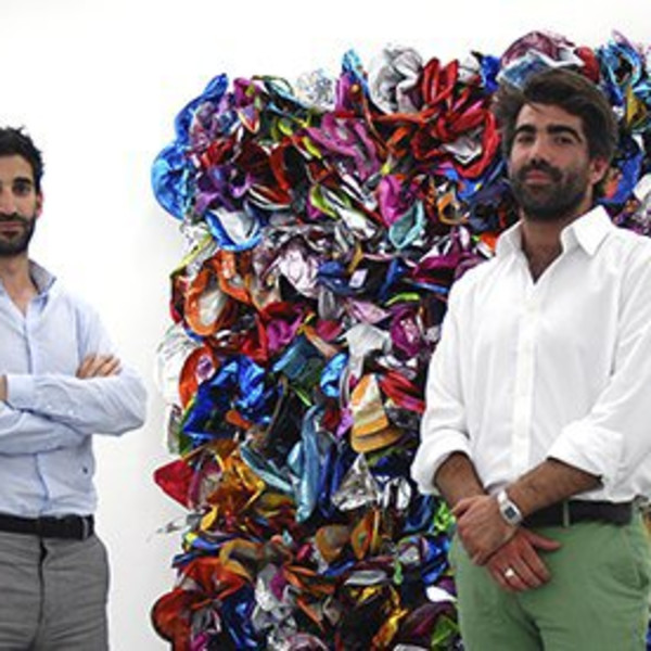 Arts head: Jeremy Epstein and Charlie Fellowes, founders, Edel Assanti.