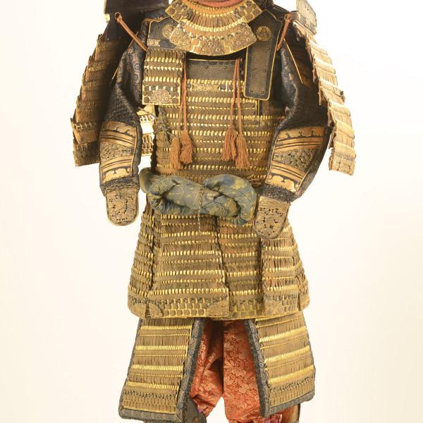 Samurai Armor in the classic style, courtesy Ellsworth Gallery