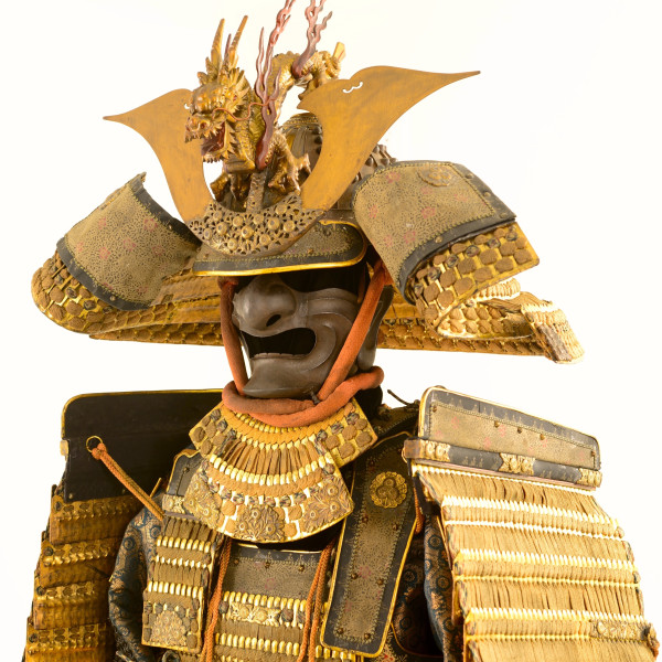 Samurai Armor in the classic style, courtesy Ellsworth Gallery
