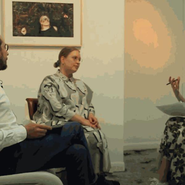 Anikó Kuikka in conversation with Jo Baring