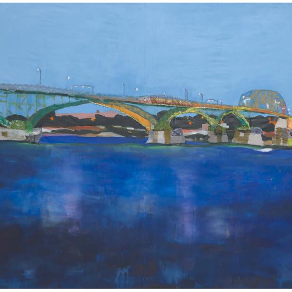 Melora Griffis - peace bridge, 2021